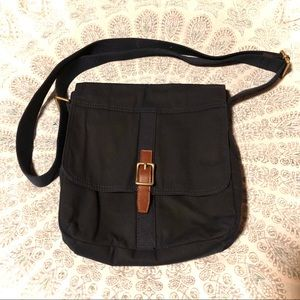 Navy Blue Crossbody Fossil Bag